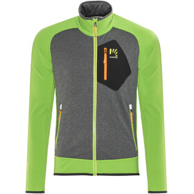 Karpos Odle Fleece Jacket Men apple green/dark grey